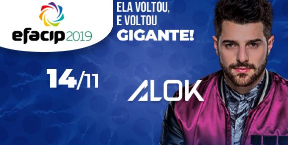 Evento 14/11 ALOK - EFACIP 2019