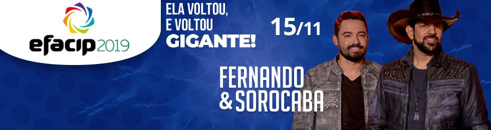 15/11 FERNANDO E SOROCABA NA EFACIP 2019