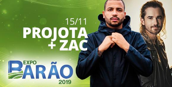 Evento PROJOTA + ZAC - EXPO BARAO 2019