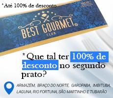 BEST GOURMET CLUB - 1ª EDICAO - SUL CATARINENSE - |SC|