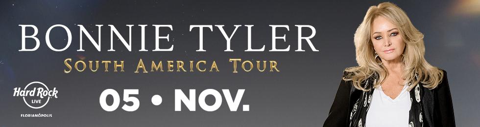 BONNIE TYLER - TOUR BRASIL
