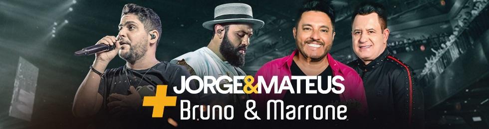 JORGE E MATEUS + BRUNO E MARRONE
