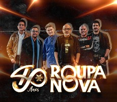 ROUPA NOVA - GIASSI 60 ANOS. CRICIUMA/SC