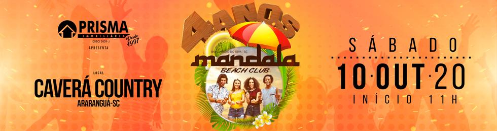 ADIADO B-DAY MANDALA  4 ANOS 