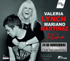 VALERIA LYNCH Y MARIANO MARTÍNEZ EN TACU