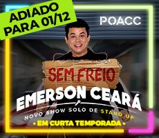 (01/12) EMERSON CEARA - SEM FREIO