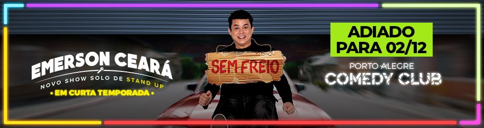 (02/12) - EMERSON CEARA - SEM FREIO