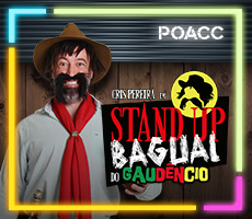 30/01 STAND UP BAGUAL DO GAUDENCIO