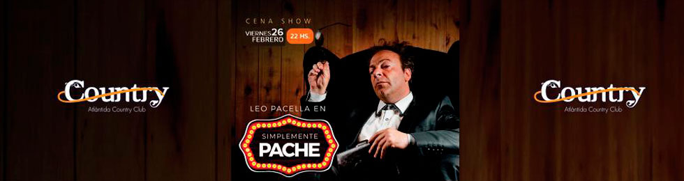 LEO PACELLA EN COUNTRY ATLANTIDA