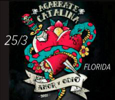 AGARRATE CATALINA EN FLORIDA