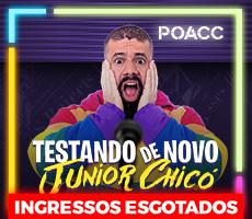 JÚNIOR CHICÓ - TESTANDO DE NOVO