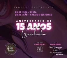 26/06 ANIVERSÁRIO DA GAUCHINHA