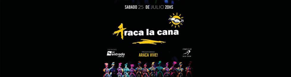 ARACA LA CANA EN COMPLEJO SALA SHOW