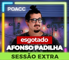 16/08 SESSAO EXTRA - AFONSO PADILHA