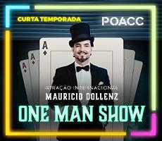 25/08  MAURICIO DOLLENZ - ONE MAN SHOW