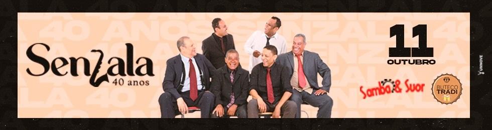 11/10 LANCAMENTO DVD SENZALA 40 ANOS