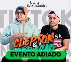 CLEPTON E CORACAO /SHOW DE COMEDIA