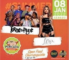 PORCADA 2022 TURMA DO PAGODE + LEXA