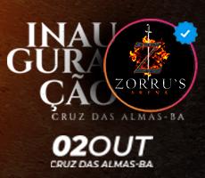 INAUGURACAO ZORRUS