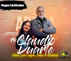 PALESTRA PASTOR CLAUDIO DUARTE