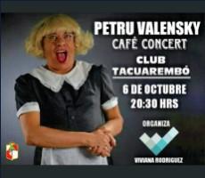 PETRU VALENSKY ? CAFE CONCERT