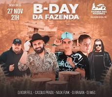 B-DAY DA FAZENDA