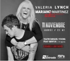 VALERIA LYNCH Y MARIANO MARTINEZ INTIMO