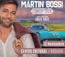 MARTIN BOSSI COMEDY TOUR ROSARIO